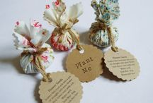 Wedding Favours | Party Details / Party Favours are something to let your guests take home as a momentum of the event or celebration. I love giving a going home present - your never too old!