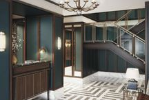 DESIGN INSPIRATION / Stunning interiors by the worlds top designers for high end property.