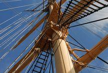 Navios Detalles / Acercamientos a las distintas fases y elementos que componen las maquetas de los navíos y su construcción .