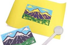 Art: Printmaking / Printmaking lesson plans and project ideas for the visual arts classroom.