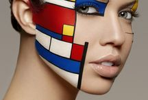 Mondriaan make-up
