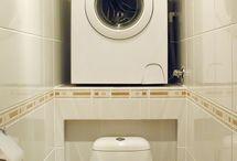 расположение стиральной машины