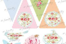 printable tea party