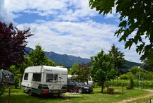 Hotel Camping Markushof / Our idyllic **** camping and *** hotel is situated in the centre of Ora and only 3 km distant from the highway exit and 4,5 km from the lake of Caldaro.