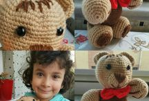 My crochet! / My teddy bear