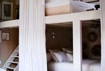 Bunk bed-duo spaces