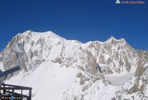 Meteoeye webcam - Monte Bianco / Collection of best Meteoeye webcam shots of Montebianco