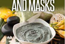 scrub and mask