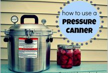 Water and Pressure Canning