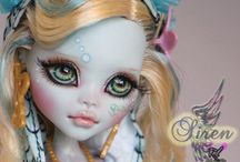 Monster High face up
