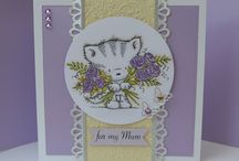 Wild Rose Studio cards / Cards made with Wild Rose Studio stamps