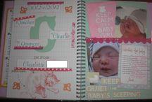 Baby smash book