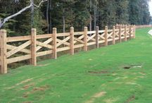 Wood Fences / Wood fences of all types