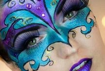 Facepainting masques