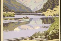 NZ Retro Posters