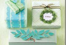 Inpakken en kleine cadeautjes