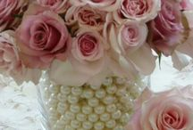 Wedding Flowers / Flower ideas for bride, bridesmaids and decorations for both venue and church to show the florist