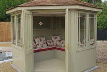 Summerhouse decor