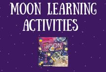 Space Activities & Books for Kids / Teach kids all about stars, planets and constellations with these fun space activities and children's books! #childrensbooksonspace #spaceactivitiesforkids #spacecrafts #spacescience