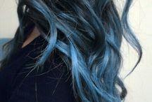 Colored hair people / Capelli colorati, tinte e stile.