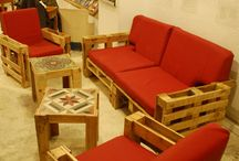 Мебель из ящиков и коррбок