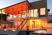 Byzance Design Intro / Villas design en béton