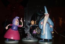 king arthur, merlin , dumbledore , gandalf / excalibur