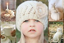 Autumn in White/Cream