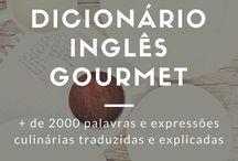 Dicionário inglês gourmet