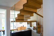 Schody dywanowe / Projekty, wizualizacje, realizacja schodów dywanowych z drewna naturalnego.