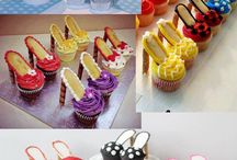 Cupcake chaussures