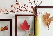 Estilo Otoñal / En esta estación las hojas caen, pero la inspiración para un interiorismo otoñal crece.