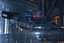 Cyberpunk gear, vehicles & shit
