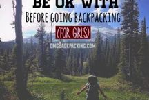Backpacking Tips / So, you want to backpack?  Where do you start?  Here are some tips that I find helpful.