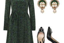 Spring Dresses / #springdress #springstyle #springcouture #businessdress