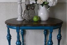 Loving Painted Vintage Furniture