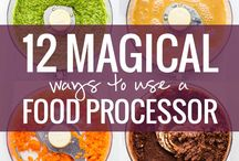Magical ways to use food processor
