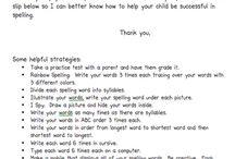 spelling ideas / by Callie Houchins-Bushmeyer