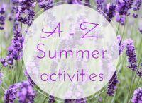 Summer Activities A - Z