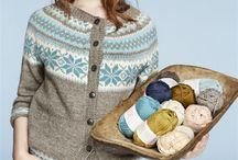 Kofter / Gensere - Knitted jackets / sweaters
