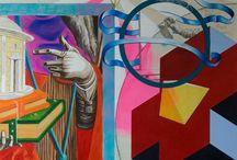 Paintings Mark Beerens / These are the paintings of Mark Beerens