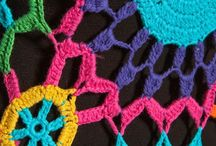 uniendo puntos crochet