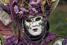 masques et costumesd vénitiens