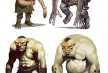 Creature ref - trolls/goblins/orcs