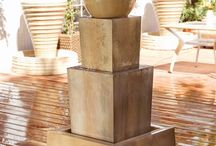 Water Features and Fountains for your Patio