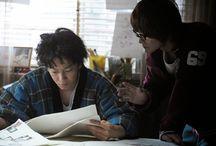 Bakuman (live-action) / Photos from the upcoming live-action film Bakuman. Takeru Sato as Moritaka Mashiro and Ryunosuke Kamiki as Akito Takagi.