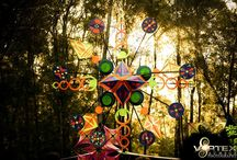 Festival Decor Ideas / Epic psychedelic decor from around the world to inspire you