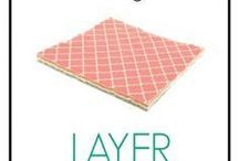 Layer cake quilts