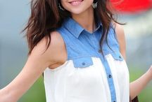 Selena Gomez! / This board is dedicated to Selena Gomez. I absolutely love her! That hair, those clothes, need I say more?
