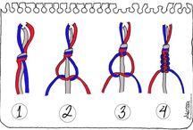 Makramee and weaving